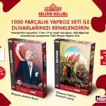Hürriyet – Atatürk ve Fatih Yapboz Hediyesi