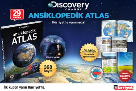 Hürriyet discovery ansiklopedik atlas