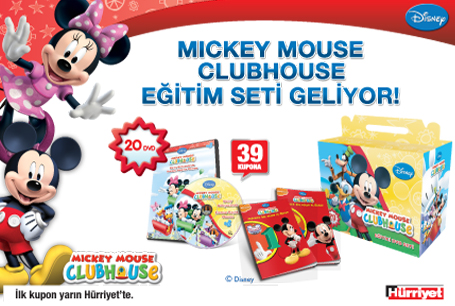 Mickie mouse club house