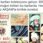 Akşam – Osmanlı Padişahları Kartları