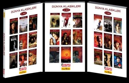 dünya klasikleri dvd seti