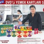 Sabah – DVD'li Yemek Kartları Seti