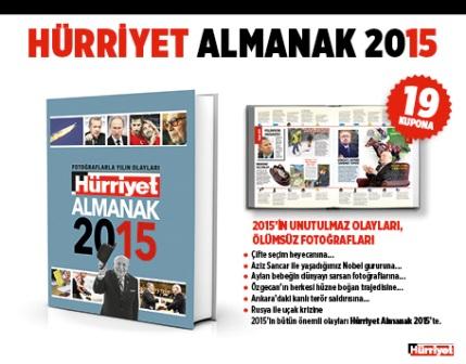 hürriyet almanak 2015