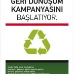 Hürriyet – TEMA Vakfı Geri Dönüşüm Kampanyası