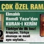 Haber Türk – Ramazana Özel 3 Set Birarada 25 Kupona