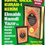 Haber Türk – İsme Özel Kuran-ı Kerim