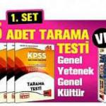 HaberTürk – KPSS 5 Adet Tarama Testi ve 5 Adet Cep Kitabı
