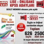 HaberTürk – Lise Önlisans KPSS Adayları