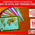 Hürriyet – Kabartma Dünya Atlası Seti