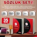 Hürriyet Gazetesi REDHOUSE ingilizce sözlük seti