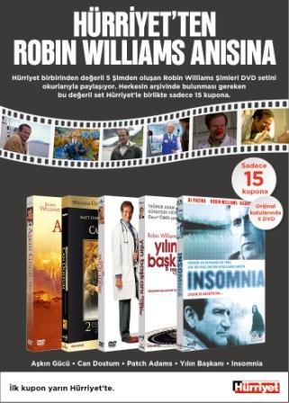 robin williams filmleri seti Hürriyet