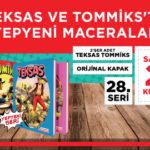 Teksas ve Tommiks Kitapları – 34. Set