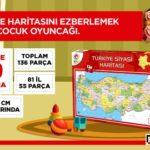 Hürriyet – Türkiye Haritası Puzzle