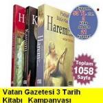 Vatan Gazetesi – (3 Mart 2011 ) Harem, Hürrem, Sultan Kitapları Yeni Kampanya
